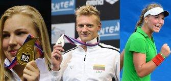 15min.lt mėnesio sportininko rinkimai: R.Meilutytė, G.Titenis ar A.Paražinskaitė?