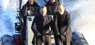"""Londone prasidėjo naujausio filmo apie Džeimsą Bondą """"Spectre"""" filmavimas"""