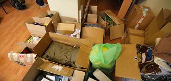 Paramos Ukrainai skandalas: beveik 7 tonos lietuvių suaukotų daiktų neišskraidinti