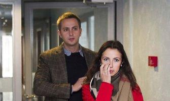 Pasišalinimu iš eismo įvykio vietos kaltinama šokėja Karina Jeremian-Daniškevičė teisme negalėjo suvaldyti ašarų