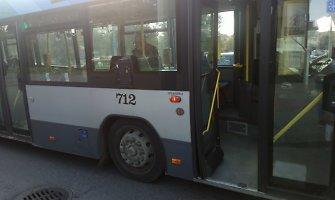 Būna ir taip: autobusas Vilniaus mieste kartais stoja tik ten, kur nori
