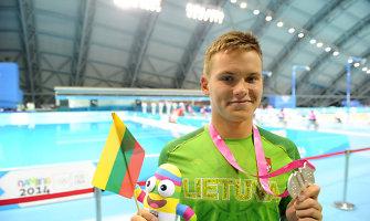 Plaukikas Povilas Strazdas – jaunimo olimpinių žaidynių pusfinalyje