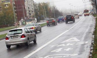 Vilniaus Laisvės prospekte – dar viena atkarpa tik viešajam transportui