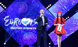 """Simona Nainė """"Eurovizijos"""" atrankos vedėjos vietą užleis kitai?"""