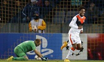 Čempionų lygoje lijo įvarčiais: 7:0, 7:1, 6:0, 4:3, Luizas Adriano vienas įmušė 5