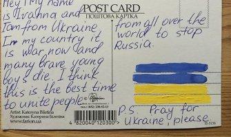 Mergina iš Ukrainos: prašau, melskitės už mus