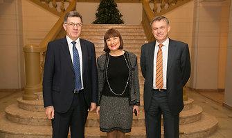 Lietuvos pramonininkų konfederacija pagerbė šalies verslui ir valstybei nusipelniusius žmones