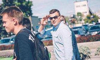 Rolandas Mackevičius susidomėjo gatvės kultūra