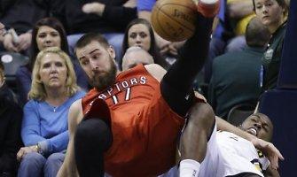 """NBA: """"Toronto Raptors"""" krepšininkai nugalėjo """"Indiana Pacers"""" komandą"""