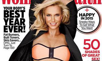 Žurnalo viršelyje Britney Spears pademonstravo tobulą figūrą