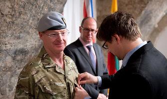 Krašto apsaugos ministerijoje akredituotas naujasis Jungtinės Karalystės gynybos atašė