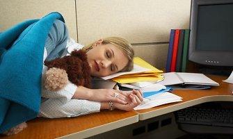 Kada reikia užmigti, kaip išsimiegoti ir nubusti žvaliam?