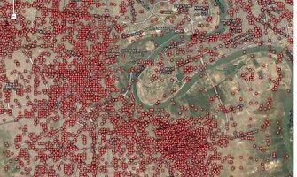 Bagdado gyventojų siaubas – viename žemėlapyje