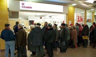 """Latvijos valdžia priėmė JAV investuotojų pasiūlymą dėl """"Citadele"""" banko pardavimo"""
