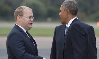 JAV prezidentas Barackas Obama atvyko į Taliną