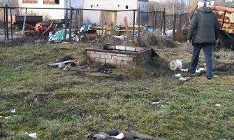 Anykščiuose sprogus skalūnų alyvos cisternai žuvo darbininkas