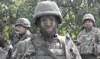"""Ukrainos savanorių bataliono """"Donbass"""" vadas: """"Ačiū nemiegojusiems per naktį, ačiū už jūsų maldas"""""""