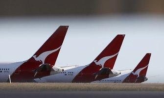 Lėktuvas Australijoje leidosi priverstiniu būdu dėl girto keleivio siautėjimo
