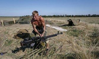 Ilovaisko rajone sunaikinta karinė technika iš Čečėnijos
