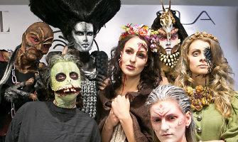 """Konkurso """"Taurė'14"""" vizažistai modelius pavertė pabaisomis iš siaubo filmų"""