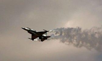 Vilniuje penktadienį leidžiasi lėktuvai, lydimi NATO naikintuvų