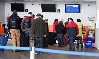 Vietoj skrydžio į Londoną – kelionė į Kauno policijos areštinę