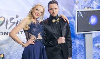 """Mia priėmė iššūkį: """"Eurovizijos"""" atrankoje dainavo su Edgaru Lubiu"""