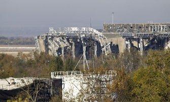 Rinkimų dieną Ukrainoje neramumai tęsiasi