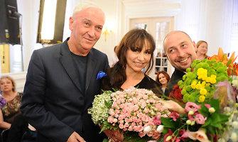 Elito ponias puošianti dizainerė Ella Tatarinova išsiskyrė su vyru, bankininku Jefimu Borodulinu