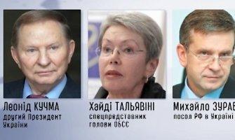 Trišalė grupė pateikė pasiūlymų, kaip siekti taikos rytų Ukrainoje