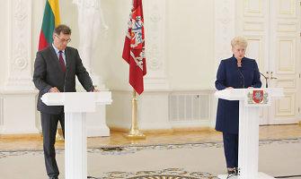 Šalies valdžia sveikina Nepriklausomybės dieną švenčiančią Latviją