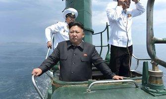 Į Pietų Korėją atvykstant popiežiui, Šiaurės Korėja paleido 3 raketas