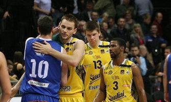 """""""Šiauliai"""" patyrė pirmąjį pralaimėjimą FIBA Iššūkio taurės turnyre"""