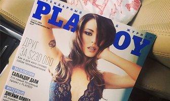 """Agnija Ditkovskytė papuošė rusiškojo """"Playboy"""" viršelį"""