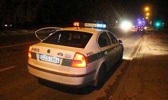 Panevėžietis automobiliu BMW partrenkė ir suskaldė kaukolę girtam pėsčiajam