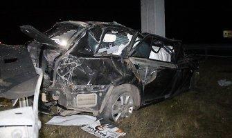 Per savaitę Lietuvos keliuose žuvo 3 žmonės: vairuotojas ir 2 pėstieji