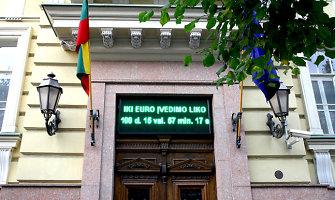 Nukaldinta pusė lietuviškų euro monetų