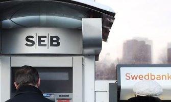 SEB klientai vėl gali naudotis visomis banko paslaugomis