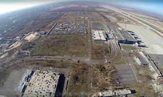 """Internete – """"mirusios Donecko žemės"""" vaizdai iš paukščio skrydžio"""