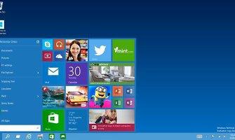 """""""Microsoft"""" oficialiai pristatė naują operacinę sistemą """"Windows 10"""""""