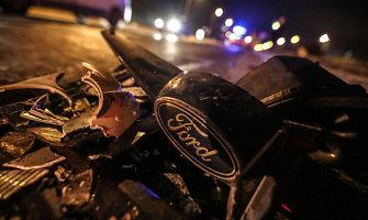 """Po dviejų savaičių – baudžiamoji byla dėl """"Volvo"""" ir """"Ford"""" susidūrimo Šiauliuose"""