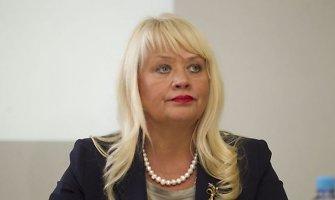 Visagino merė Dalia Štraupaitė dėl įtarimų reikalavus kyšių nušalinta nuo pareigų