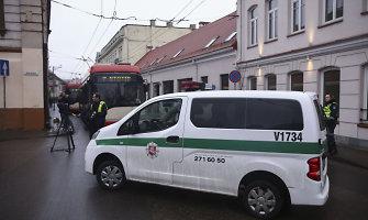 Sumaištį dėl tariamos bombos Vilniaus centre antradienį kėlusį vyrą vėl globoja psichiatrai