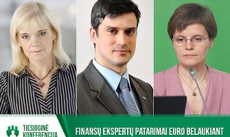 Specialiai 15min.lt – tiesioginė finansų ekspertų konferencija apie euro įvedimą
