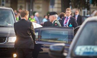 Vilniuje – susitikimas su Vyriausiuoju sąjungininkių pajėgų Europoje vadu generolu P.Breedlove'u