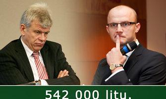 Buvęs viceministras Vytautas Galvonas iš Edmundo Jakilaičio reikalauja pusės milijono