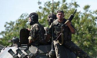 50 valandų be vandens: patikros posto blokada Luhansko srityje vis dar tęsiasi