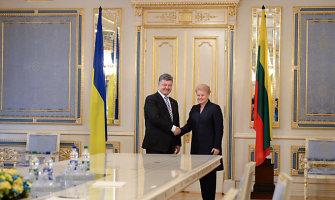 """Dalia Grybauskaitė Ukrainos spaudai: """"ES turėtų suteikti jūsų šaliai ir karinę paramą"""""""
