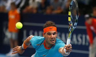 Rafaelis Nadalis pergalingai sugrįžo į teniso varžybas