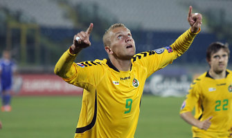 Deivydas Matulevičius Rumunijos futbolo lygoje įmušė du įvarčius